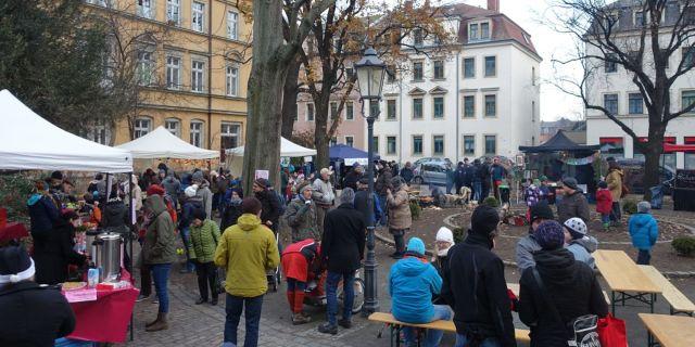 Adventsmarkt Pieschen St. Markus Kirche