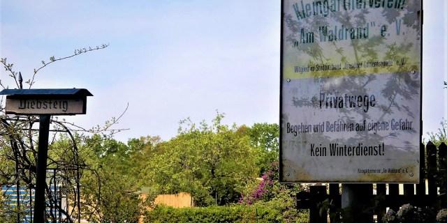 Kleingarten KGV Am Waldrand. KBrendler