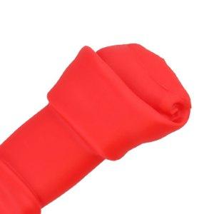 Zabawka gryzak dla psa – kość czerwona