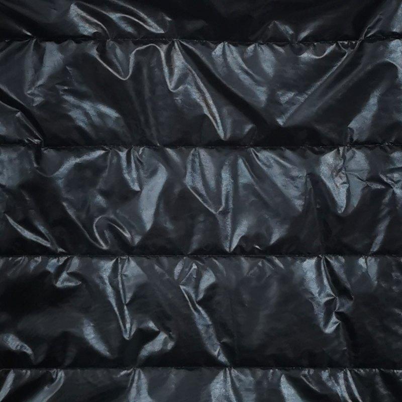 Czarna derka połysk