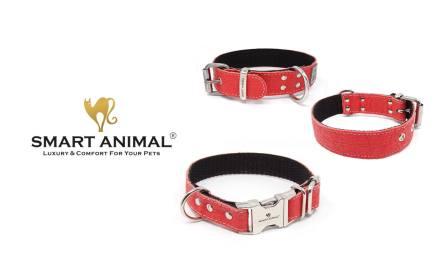 Wyjątkowa obroża dla psa, kolekcja PINATEX  firmy SMART ANIMAL