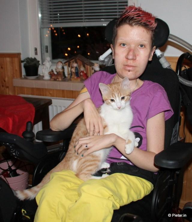 Maiju ja kissa.