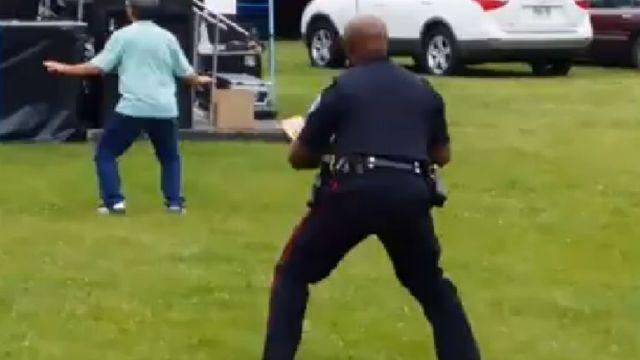 dancing-police-officer