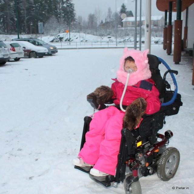 Hyvä varustus on talvella tärkeää.