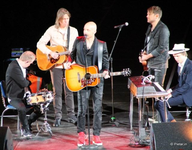 Juha Tapion konsertissa.