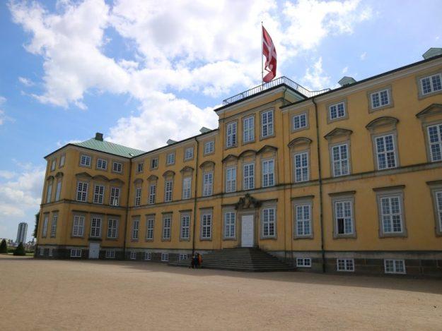 Frederiksbergin linna kuvassa.