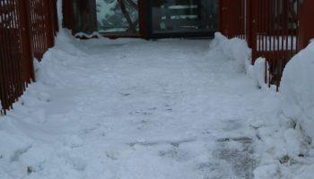Lunta on paljon.
