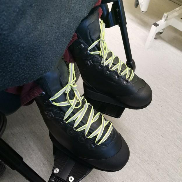 Uudet kengät.