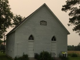 1890s Methodist chapel in Moravia, IA