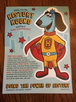 Kids' workbook from MN History Center