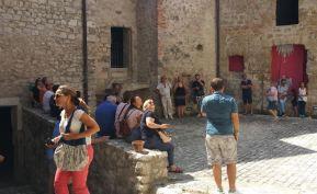 turisti castello