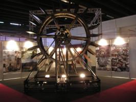 ruota idraulica, al salone del restauro di Ferrara.