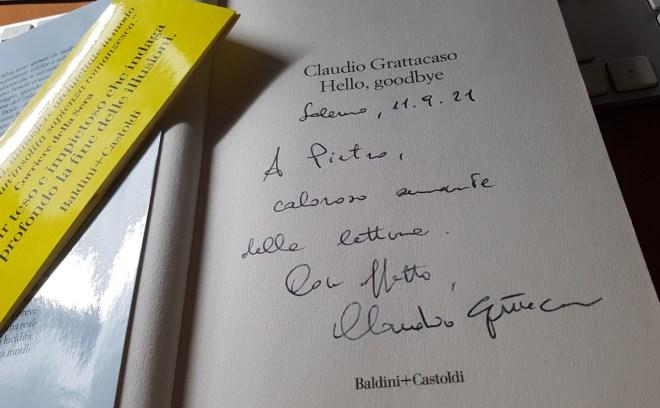 firma di Claudio Grattacaso