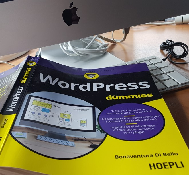 copertina libro su WordPress