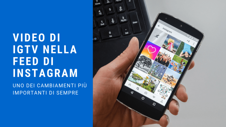 Video di IGTV nella feed di Instagram