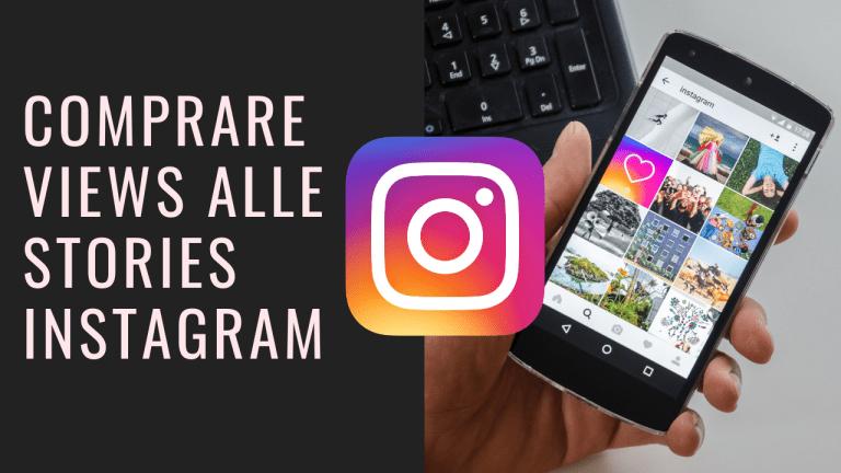Aumento delle visualizzazioni sotto le stories di Instagram