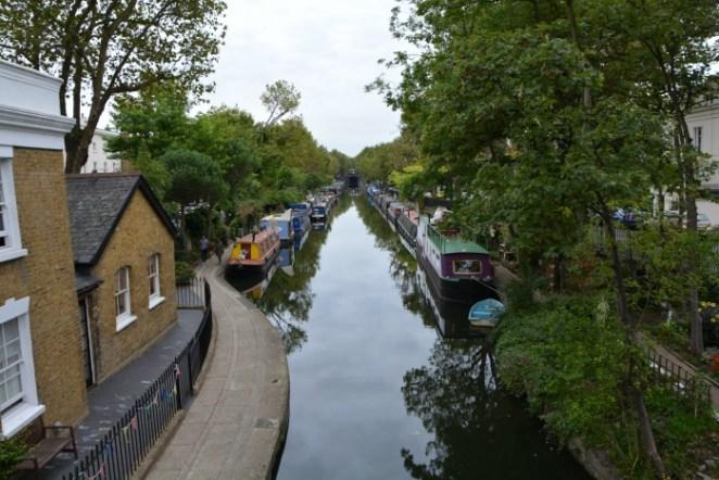 Cosa vedere a Londra in quattro giorni regent's canal natura