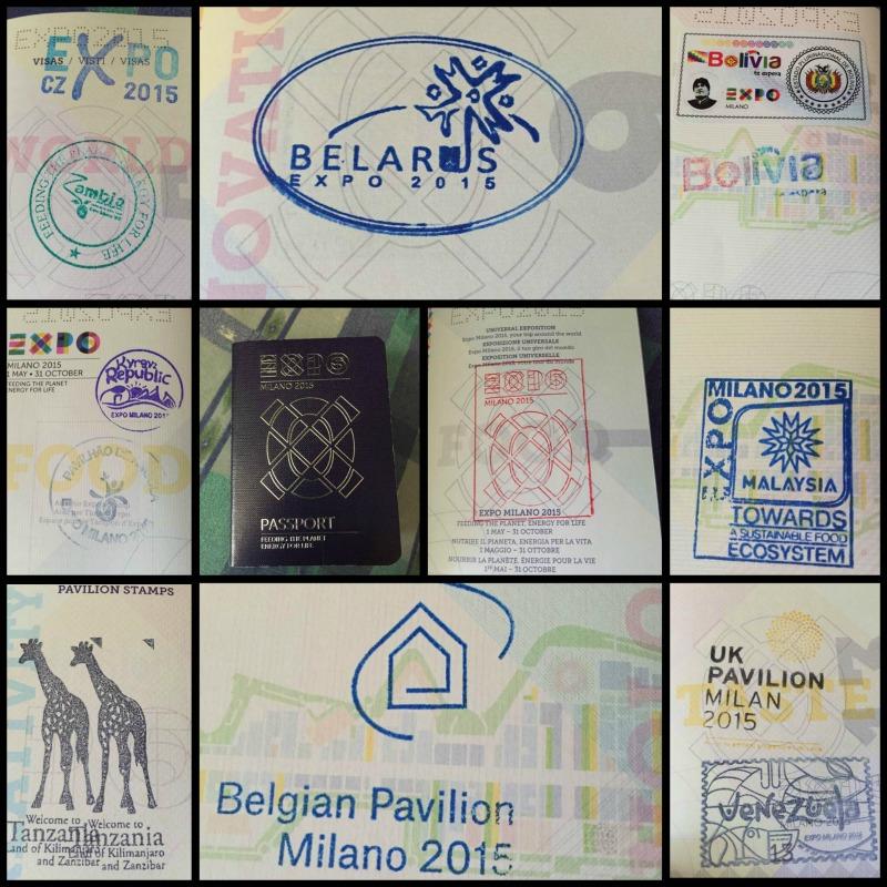 La mia giornata Expo 2015 passaporto