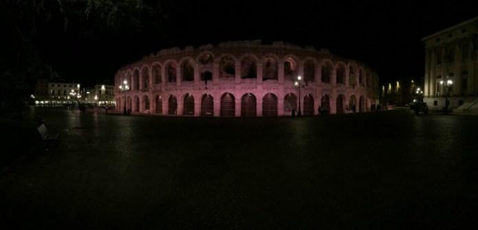 Itinerario un giorno verona arena illuminata