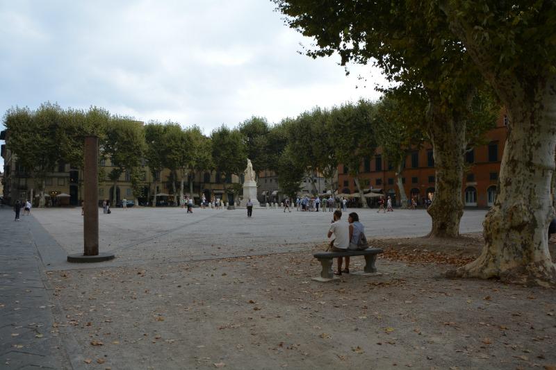itinerario un giorno lucca piazza napoleone