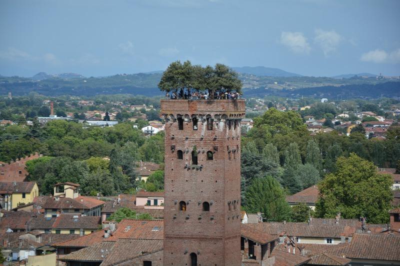 itinerario un giorno lucca torre guinigi