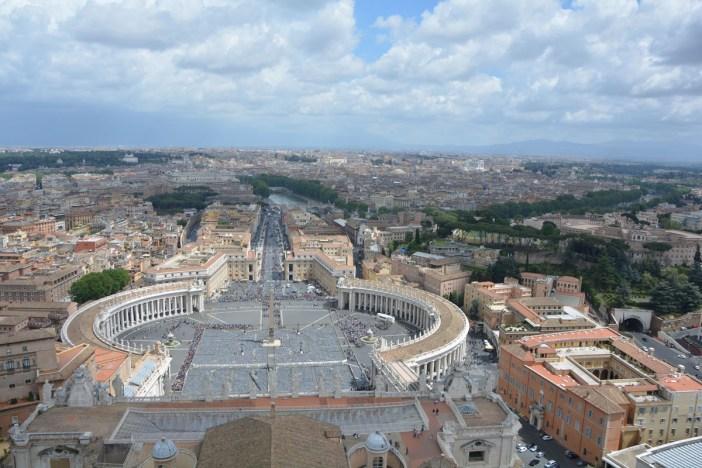 10 città italiane viste alto roma