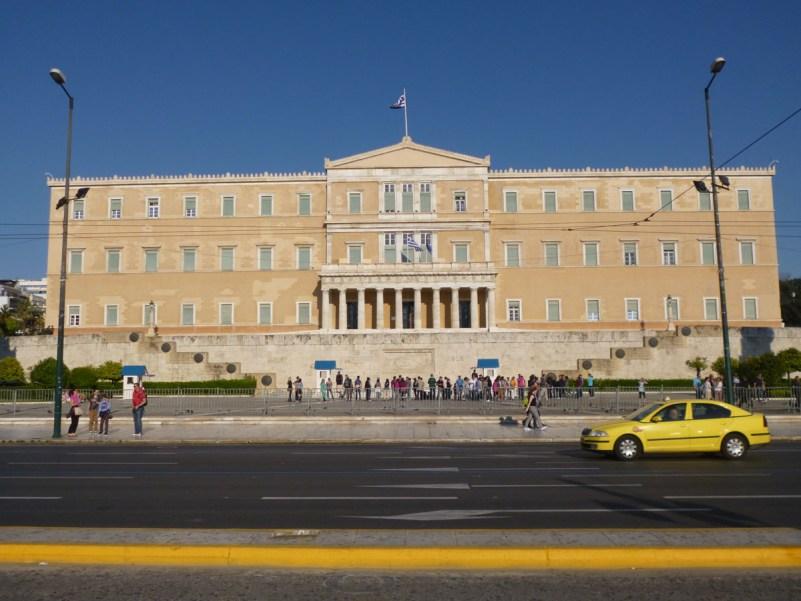 cosa vedere ad atene parlamento grecia