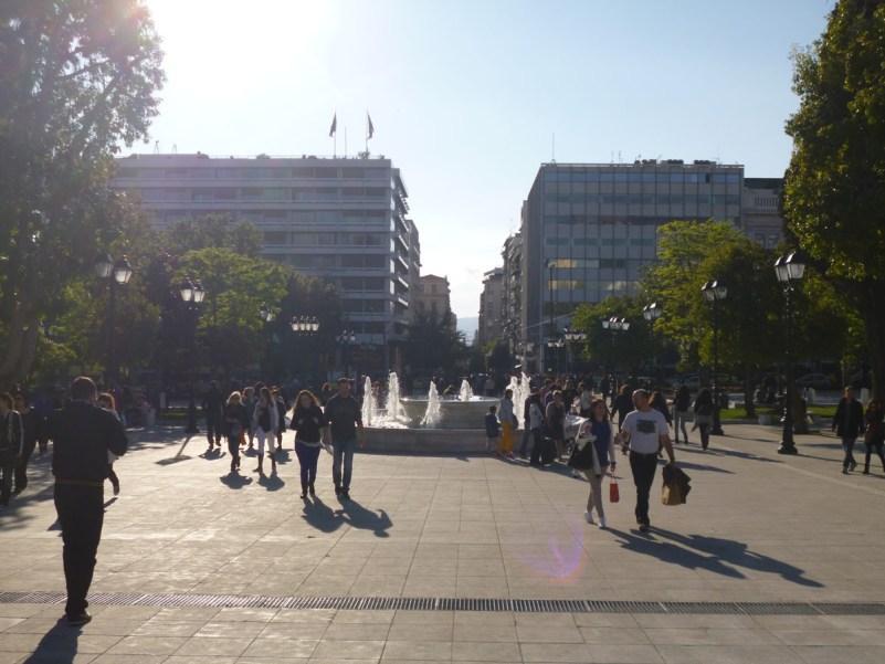 cosa vedere ad atene piazza syntagma