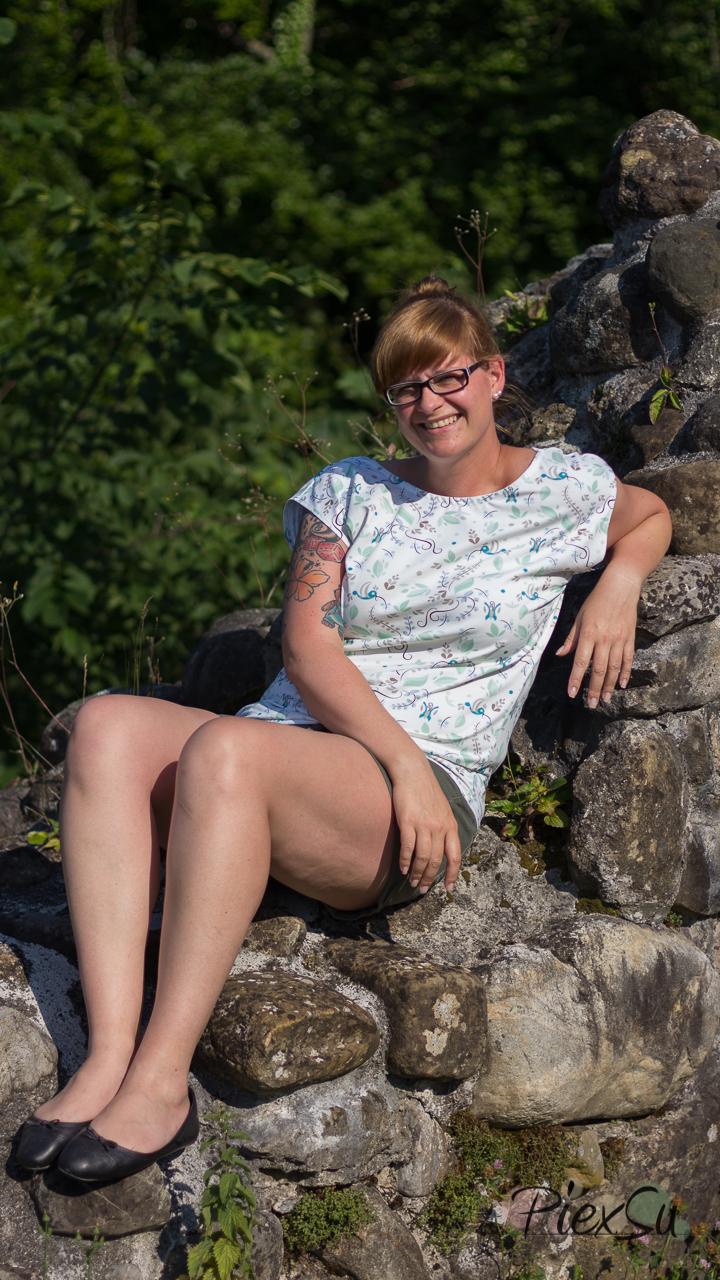 PiexSu Wasserfall Shirt Levezia nähen Schnittmuster Summer Basics_19