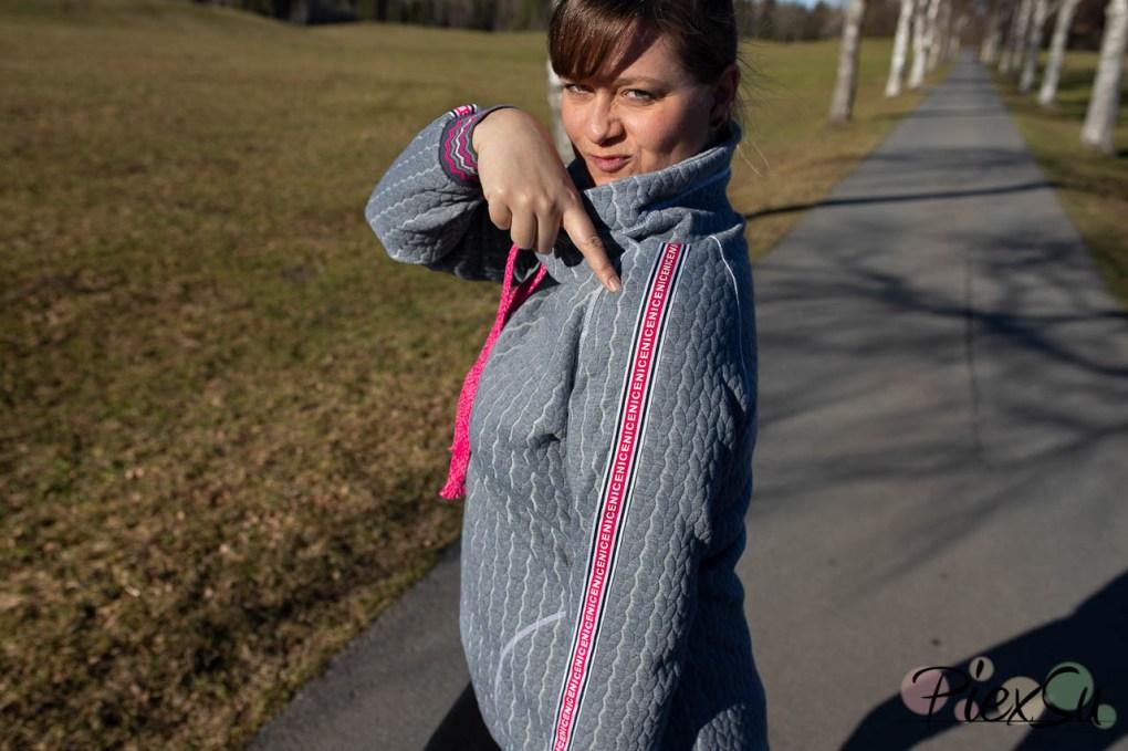 PiexSu Modest Pulli Pullover Raglanpulli Raglanärmel Schnittmuster nähen Sweatstoff Sweatshirt Nähanleitung -7600