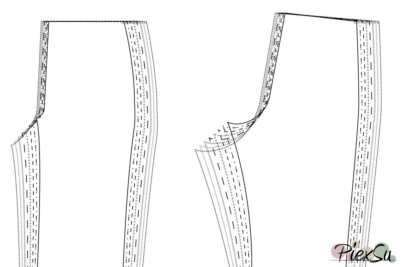PiexSu-Schnittmuster-anpassen-Hosenschnittmuster-anpassen-unterschiedliche-Größe-in-Taille-und-Hüfte-01