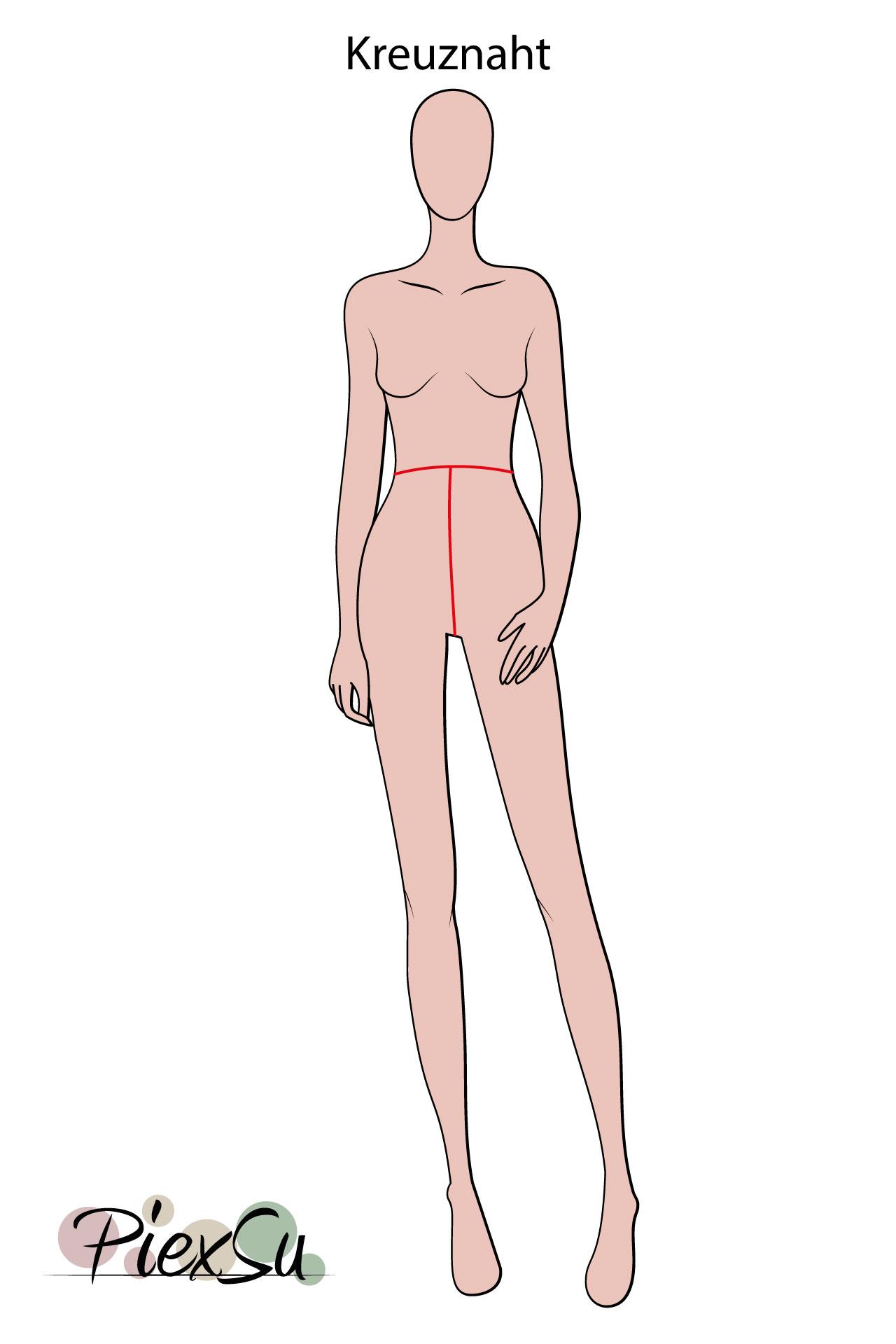 PiexSu-richtig-Maßnehmen-Maße-Schnittmuster-nähen-Schnittmuster-anpassen-messen-Maßband-Kreuznaht