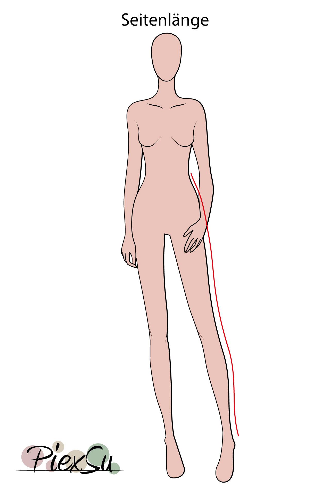 PiexSu-richtig-Maßnehmen-Maße-Schnittmuster-nähen-Schnittmuster-anpassen-messen-Maßband-Seitenlänge