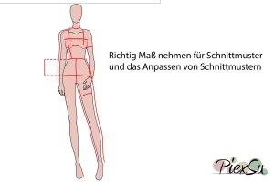 PiexSu-richtig-Maßnehmen-Maße-Schnittmuster-nähen-Schnittmuster-anpassen-messen-Maßband