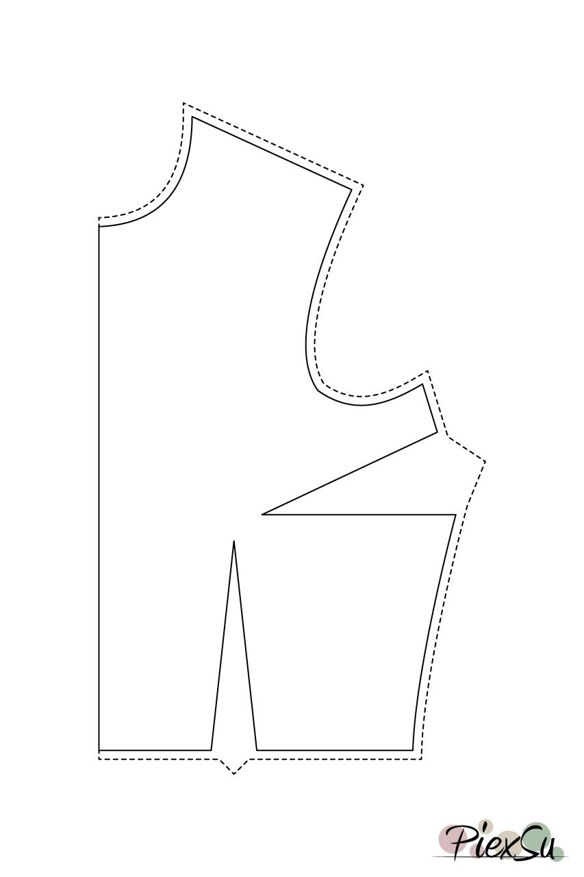 Schnittmuster-anpassen-große-Oberweite-FBA-Full-Bust-Adjustment-Schnittanpassung-PiexSu-(06)