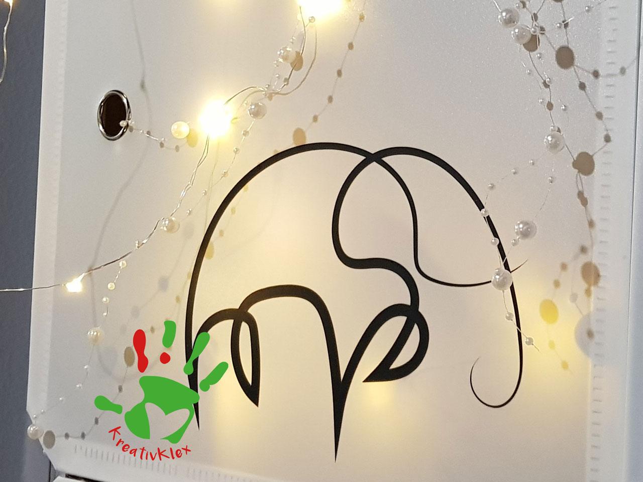 Lenhard_Elvira_KreativKlex_Plotterdatei-Set-Oneline-Animals_Elefant