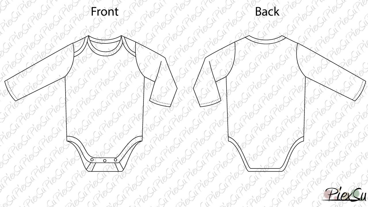 Schnittmuster-PiexSu-Babybody-Emballar-technische-Zeichnung