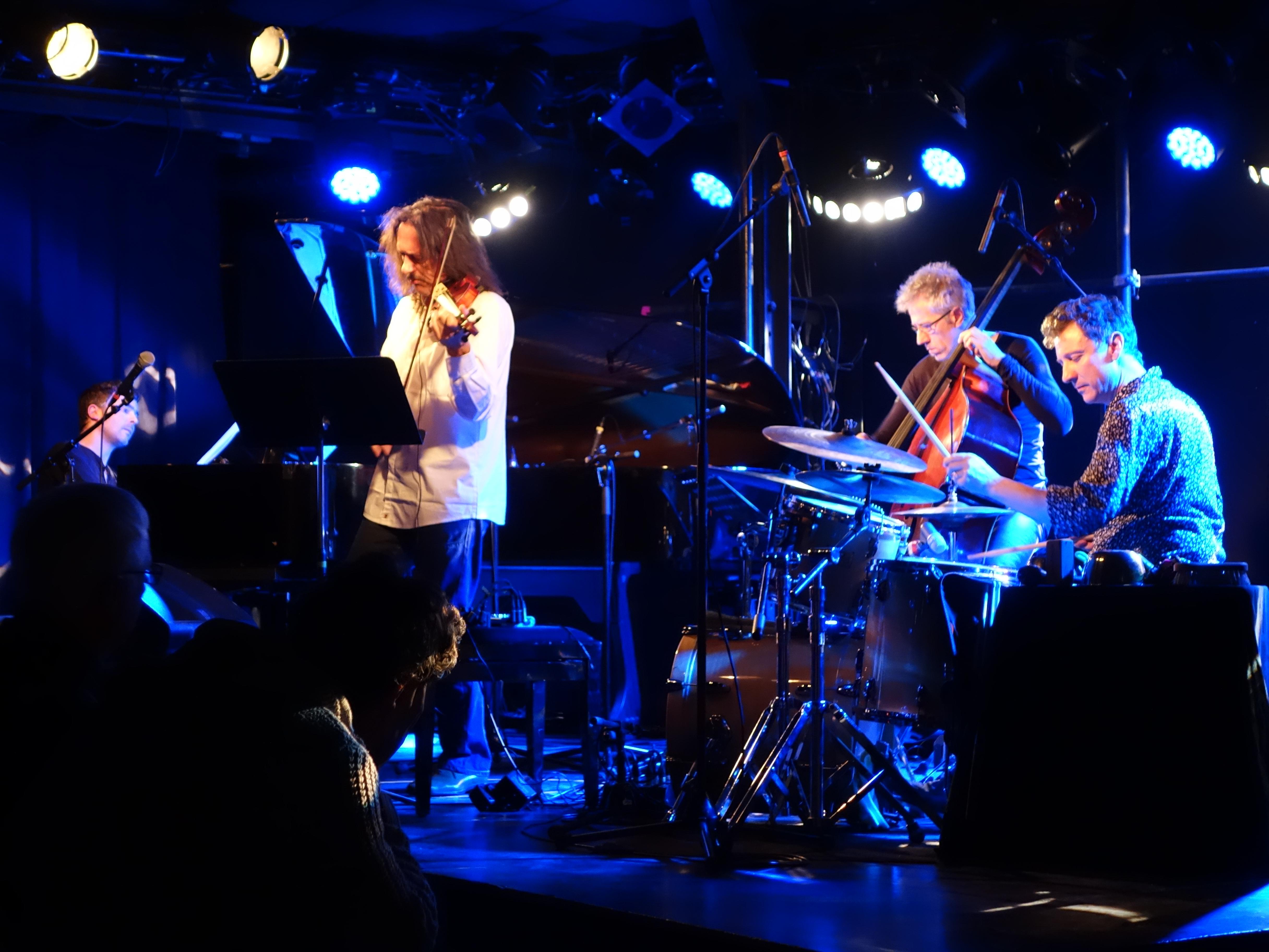 Dominique Pifarély Quartet Live in Berlin, video