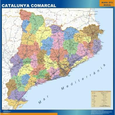 mapa-catalunya-comarcal