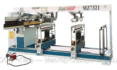 Полуавтоматический сверлильно-присадочный станок МZ-7321