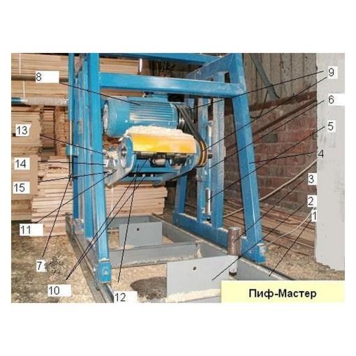 Станок для производства профилированного бруса СПБ-200.ТЛТ