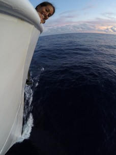 Hello from the bow!