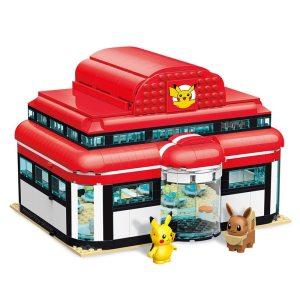 pokemon center à construire