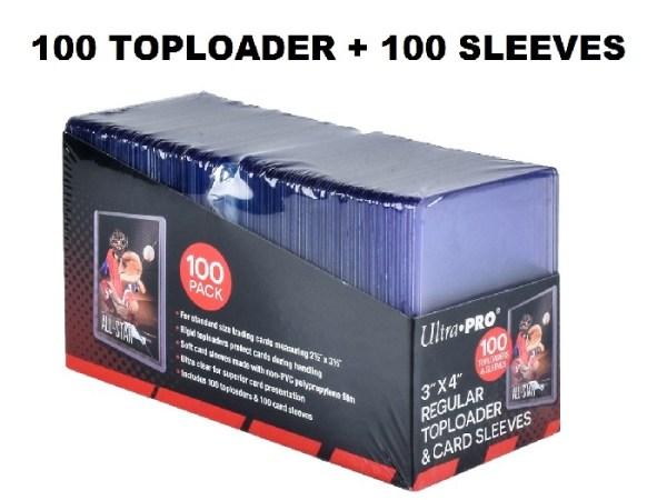Toploader-sleeves