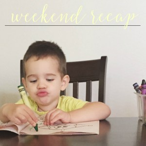 Weekend Recap – Magic Mike + Weaning + Book Preview