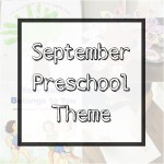 """September Preschool Theme + Printable """"All About Me"""" Booklet"""