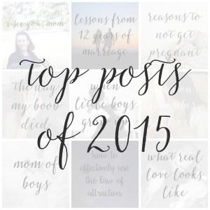 Top Posts of 2015
