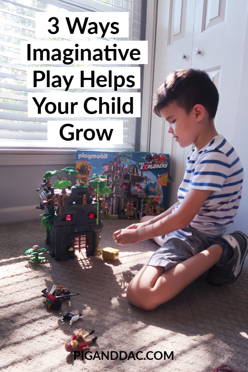 Learn 3 reasons why imaginative play is so helpful in your child's development