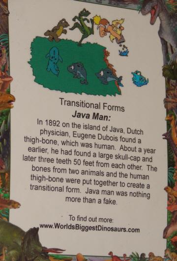 Java-man poster