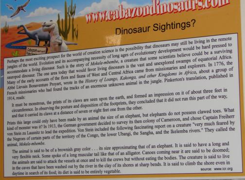 Living dinosaurs?